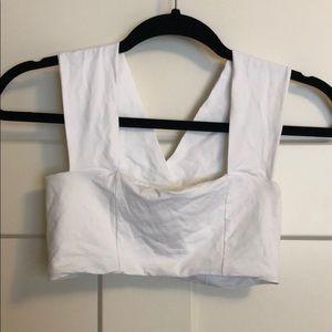 ⚜️ L*Space white bikini top